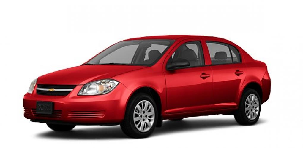 2010 Red /GRAY Chevrolet Cobalt (1G1AB5F57A7) with an 2.2L L4 DOHC 16V engine, 4-Speed Automatic transmission, located at 344 Washington Rd, Ogden, UT, 84404, (801) 399-1799, 40.727280, -79.093086 - Photo #0