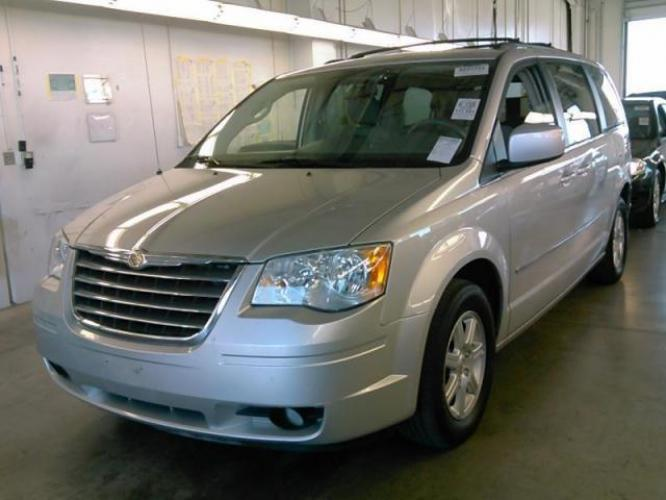 2010 Gray Chrysler Town and Country (2A4RR5D15AR) with an V6 3.8 Liter engine, Automatic, 6-Spd w/Overdrive and AutoStick transmission, located at 344 Washington Rd, Ogden, UT, 84404, (801) 399-1799, 40.727280, -79.093086 - Photo #0